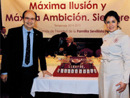 El Sevilla Fútbol Club celebra su emotiva comida de Navidad en Robles Aljarafe