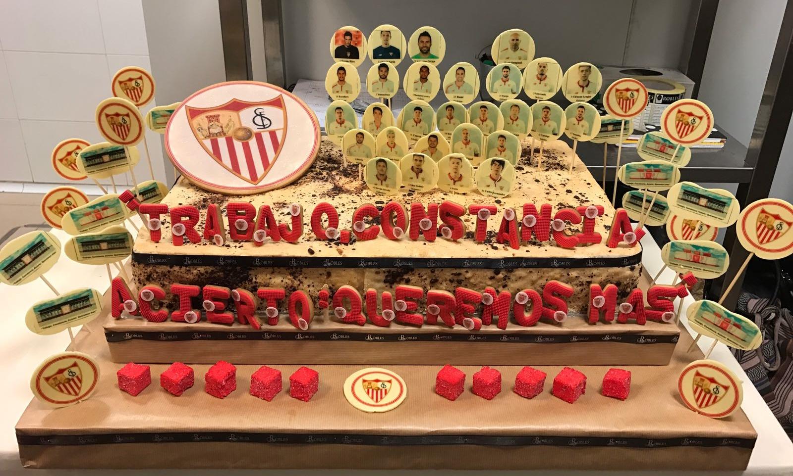 127 Aniversario Sevilla Fútbol Club en Robles Aljarafe